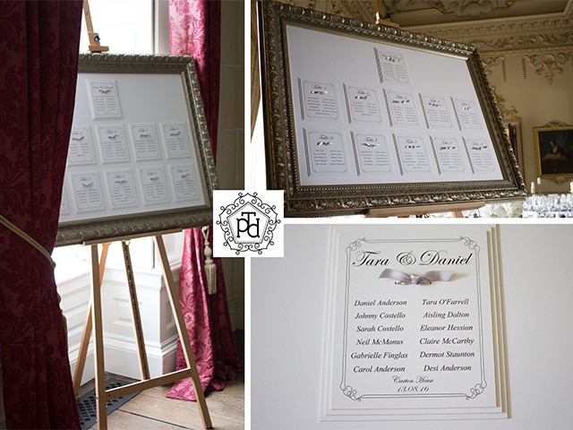 Tara O�Farrell Wedding Table Plan
