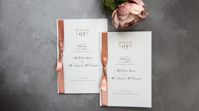 Wedding Invitations and Stationery - Save the Date.ie - Your Wedding Stationery Specialists