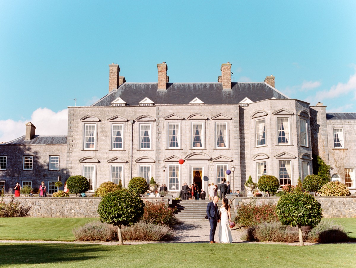 Wedding Party at Castle Durrow
