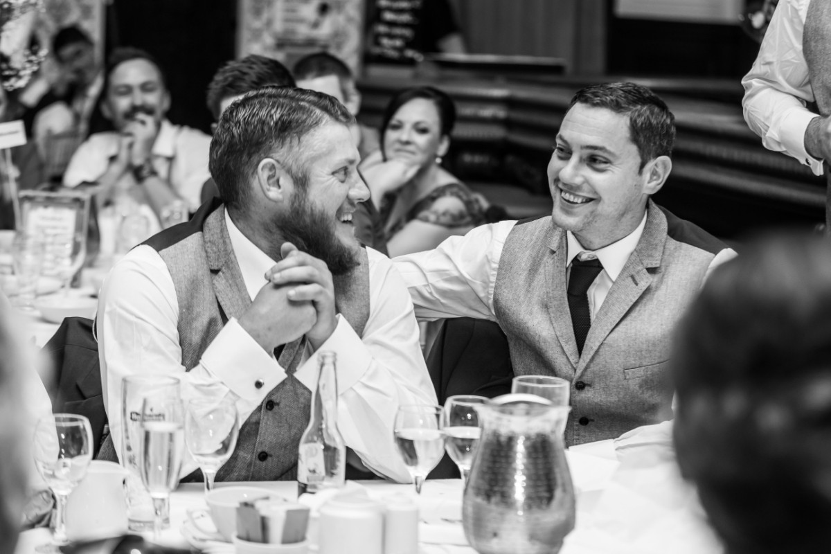 Wedding speeches - Laura and Benny Photography