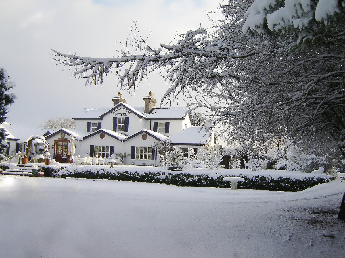 Winter Wedding at The Station House Hotel