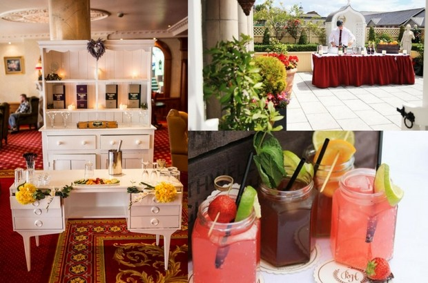 Wow your guests with a cocktail arrivals reception!