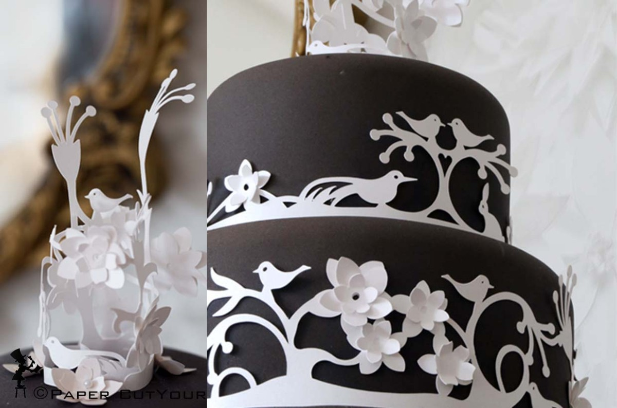 Paper CutYour LASER CUT Cake Surrounds and Cake topper