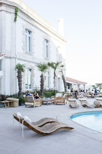 The Albatroz Hotel - Swimming Pool Terrace