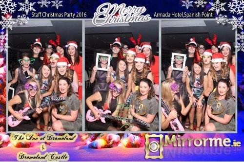 Mirrorme.ie at Dromoland Castle & Dromoland Inn Staff Christmas Party