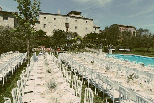 Outdoor Reception | Castello di Montignano