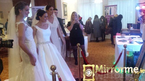 Mirrorme.ie with Catwalk Models at Dromoland Inn Wedding Showcase