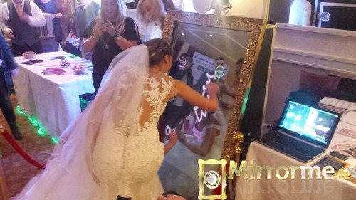 Mirrorme.ie with Catwalk Models at Dromoland Inn Wedding Showcase #2
