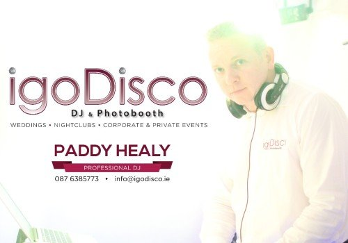 Dj Paddy Healy igoDisco.ie