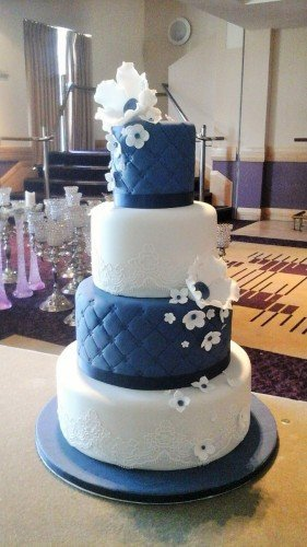 Wedding Cakes Sligo - www.cakerise.ie Beautiful 4 Tier Wedding cake at The Radisson Blu Hotel in Sligo