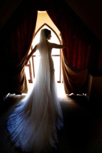 Bride Silhouette Arched Window Hotel Wedding Venues | Great National  Abbey Court Hotel, Lodges & Trinity Leisure Spa