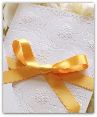 Wedding Invitations - Mass Booklets | Vera Wang Stationery from InkPretty