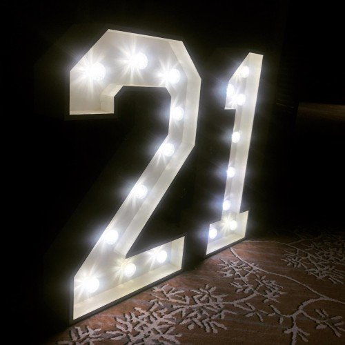 4ft LED numbers