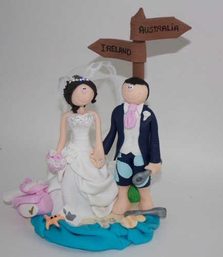 Wedding Cake Toppers | Belle Toppers