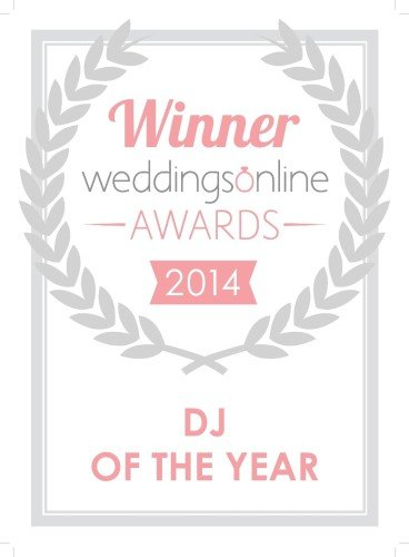 Wedding DJ of the Year 2014