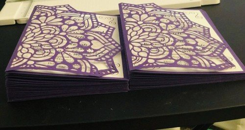 Wedding invites, all colours and types