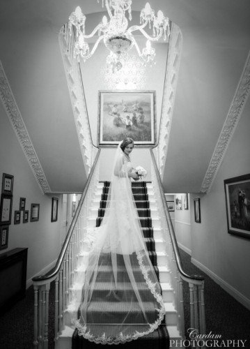 The Sweeping Staircase in our original Georgian Manor