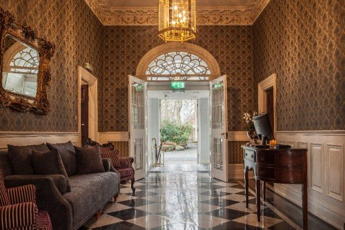 Leixlip Manor House entrance hall