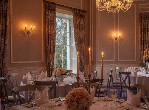 Manor Rooms Wedding Reception Dinner at Leixlip Manor House