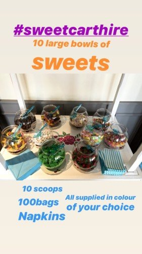 So many sweets included