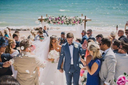 Algarve beach wedding- Algarve Weddings by Rebecca