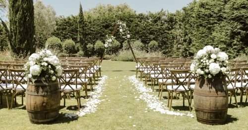 Algarve villa wedding