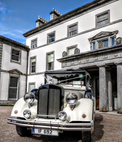 Arrive in style at Fota House