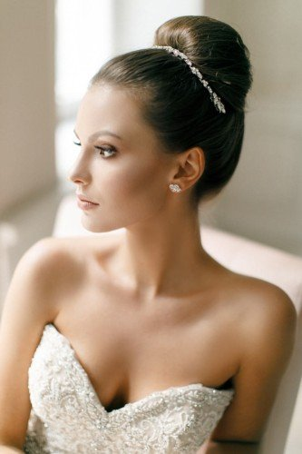 AVALON Crystal Bridal Double Hair Comb b