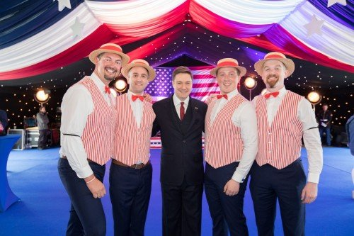 barbershop quartet wedding music