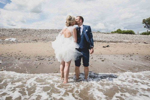 Beach Wedding - Laura and Benny Photography