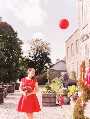 Beautiful Bridesmaid, Beautiful Back Drop...