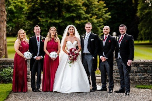 Bouquets and Venue Styling at Luttrelstown Castle