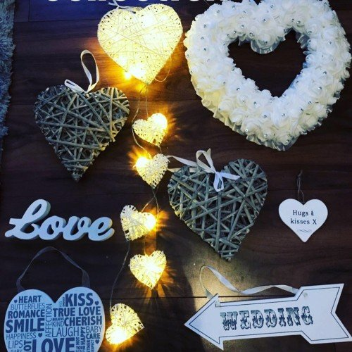So many accessories available to decorate your venue