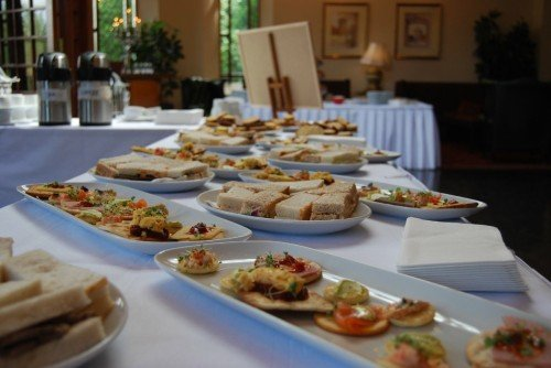Canapes Arrivals Food/ Hotel Wedding Venues | Great National Abbey Court Hotel