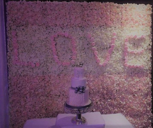 flower wall - Enchanting Events