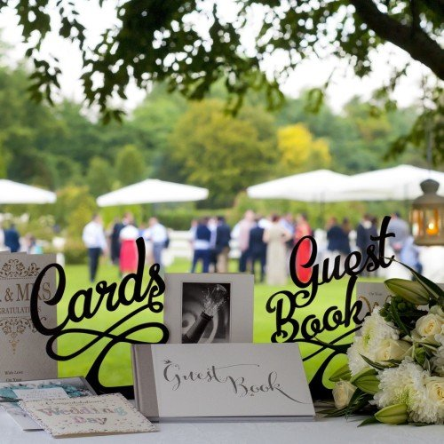 Card and Guest book sign