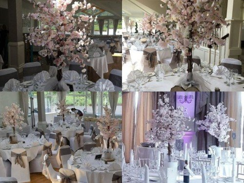 centrepieces by All About Weddings