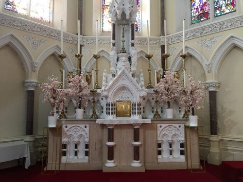 Ceremony Decor at Monkstown Church