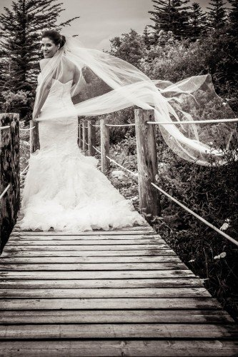 bride at parknasilla, sneem Tara Donoghue Photography