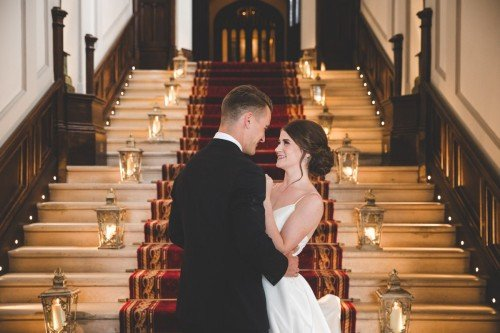 Couple at Stairs