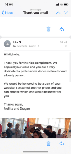 Dance Instructors - Michelle Alonzi - Dance Instructor
