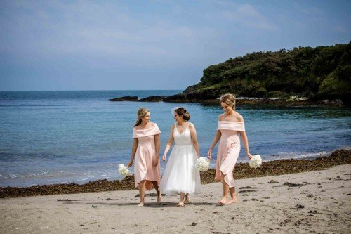 Beach Wedding - Laura & Benny Photography