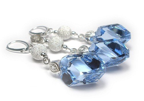 DIAMOND Sapphire Light Swarovski Crystal Set