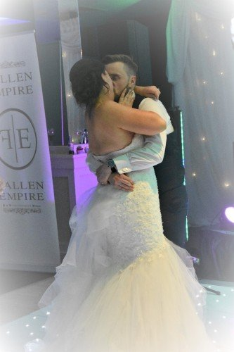 First Dance.Nicole and Gareth.