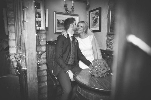 carol dunne photography wedding photography couple bride and groom happy love relaxed natural documentary photography quick pint pub just married love