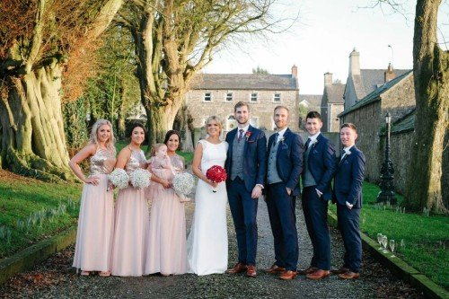 carol dunne photography wedding photography couple bride and groom happy love relaxed natural documentary photography bridal party bridesmaids best man wedding party conyngham arms
