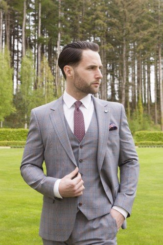 Benetti Check Suit