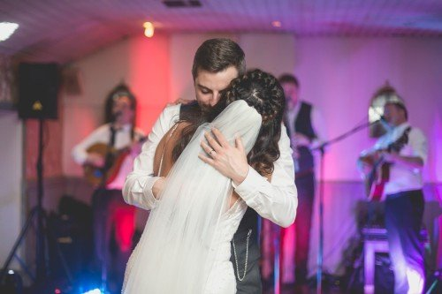 Emotional first dance