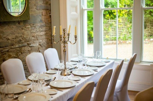 Exclusive Wedding Venues - Poulaphouca House and Falls