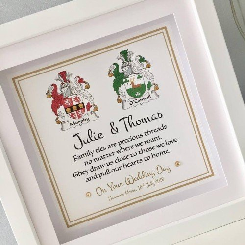 Favours - Cute as a Button Personalised Frames